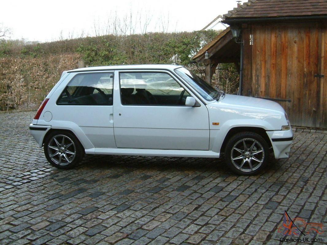 renault 5 gt turbo phase 2 1990 great condition. Black Bedroom Furniture Sets. Home Design Ideas