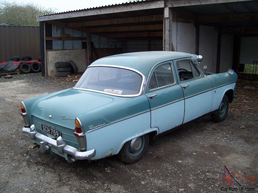 garage find 1960 ford zephyr mk 2