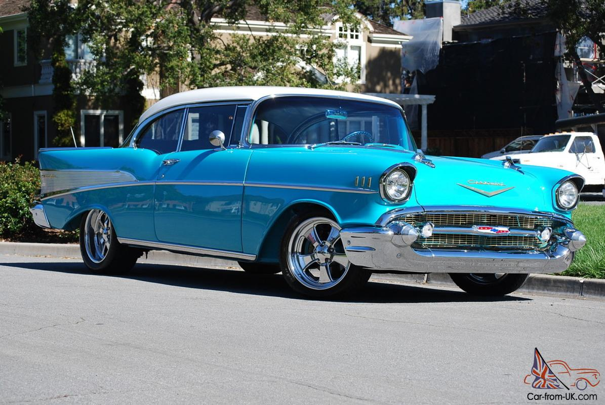 1957 chevy belair 2 door