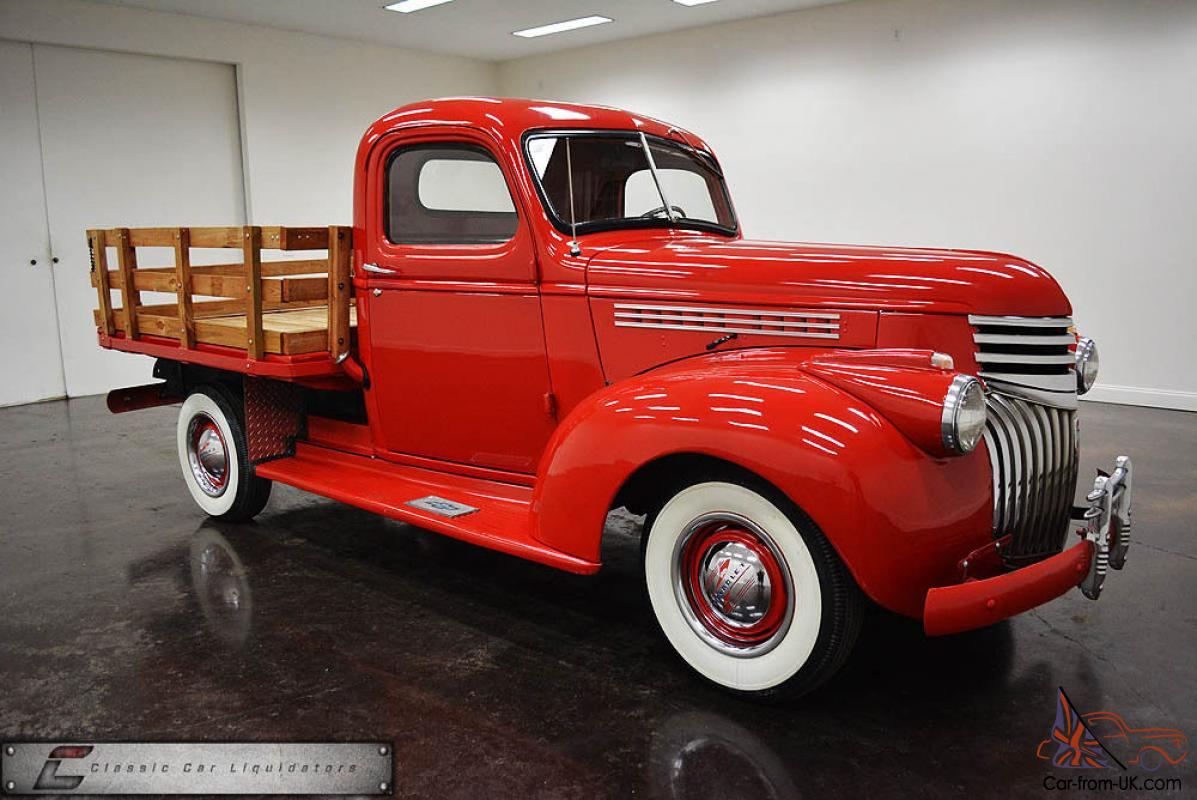 Chevrolet Panel Truck Thumb C as well Survivor Barn Find Chevy Truck Rare Original Pickup together with Chevy Ton Pickup Truck Cylinder Speed Hp All Original also Dump Body Renn Ft in addition Ebay. on vin numbers on a 1946 chevy truck