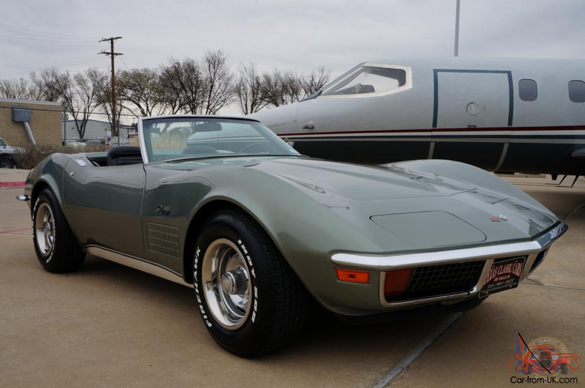 1972 corvette stingray convertible matching numbers for sale. Cars Review. Best American Auto & Cars Review