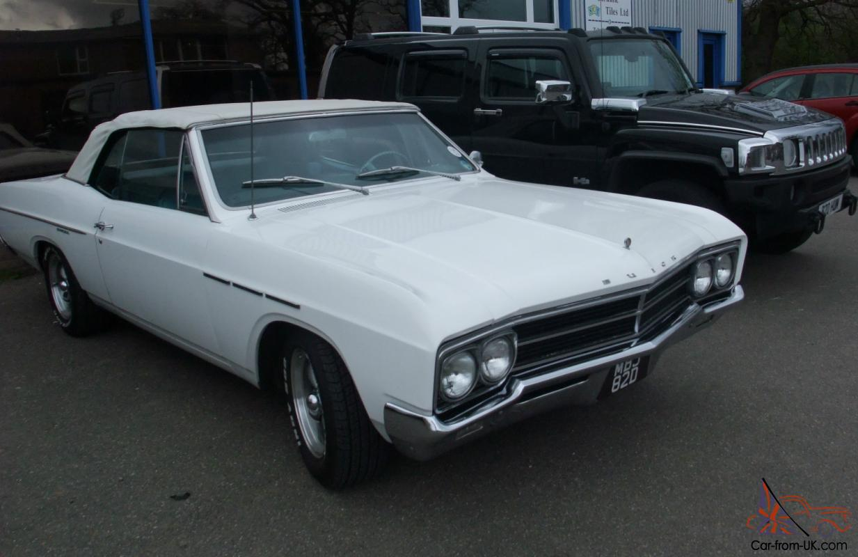 66 Buick Special Convertible Buick 66 Special V8power Hood