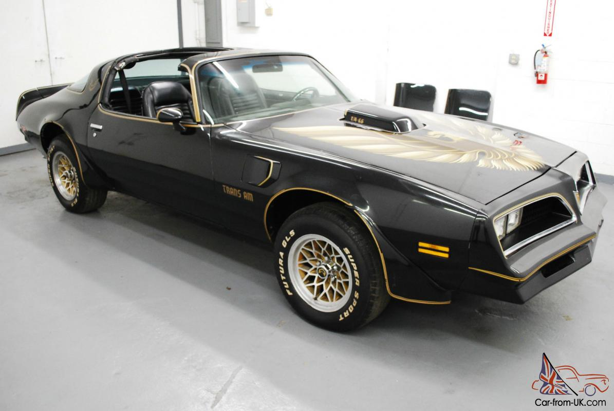 1979 pontiac trans am t tops v8 auto snow flakes disc pwr for Am motors used cars