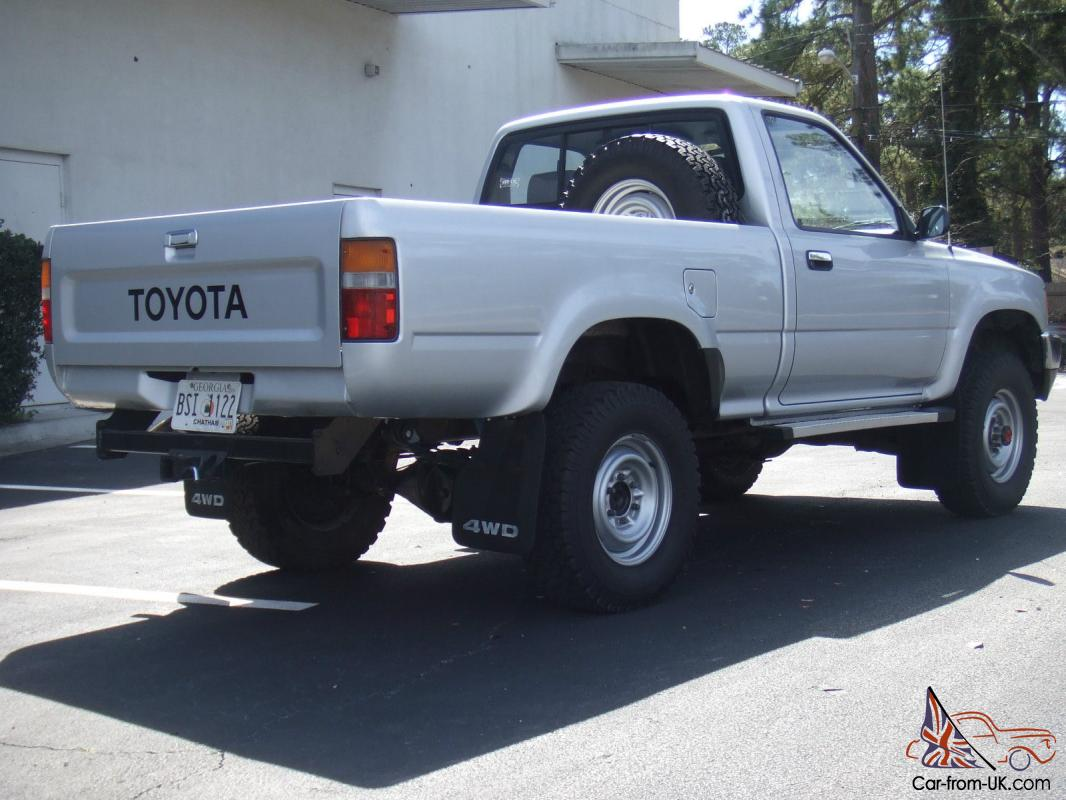 1989 toyota pickup 4x4 short bed. Black Bedroom Furniture Sets. Home Design Ideas