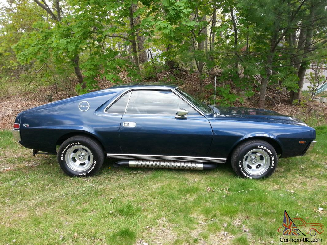 1968 AMC AMX RARE CAR!!!! (( Go Pack