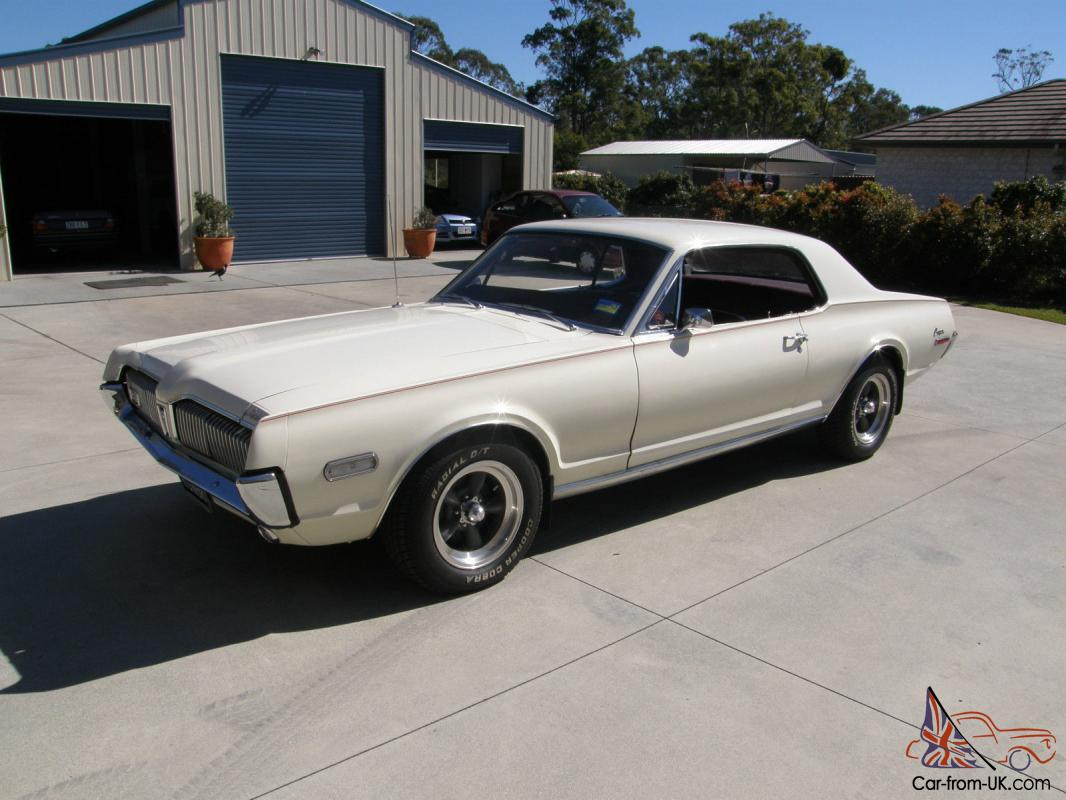 ford mercury cougar 1968 2 door coupe. Black Bedroom Furniture Sets. Home Design Ideas