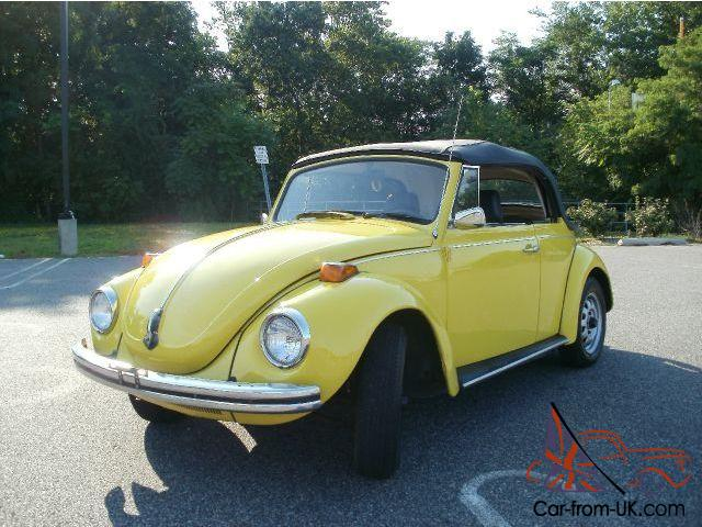 Convertible Bug Black Yellow Super Beetle Are Banr Find Collector Wow No Reserve Photo