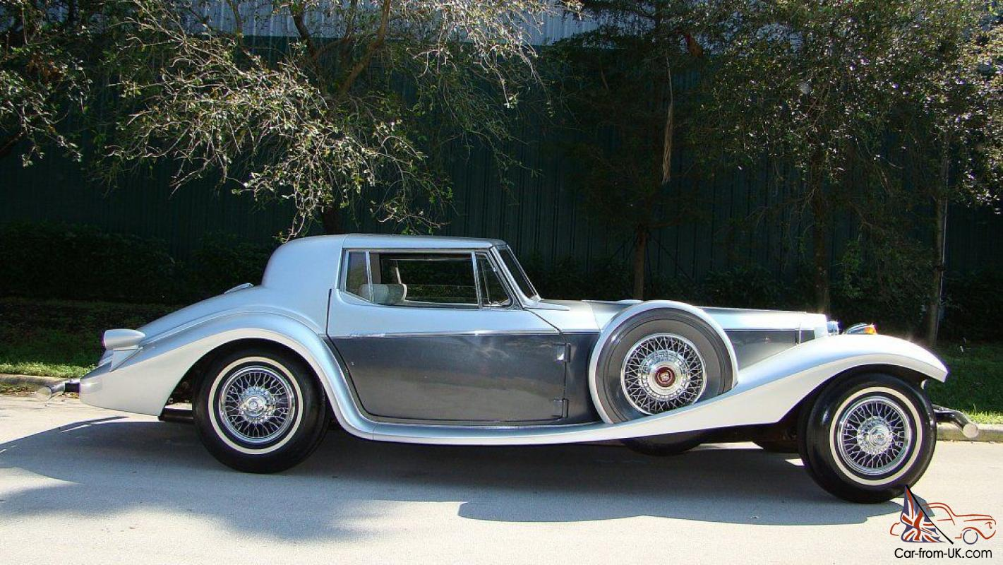 1939 Berlina Targa Top Coupe Built By Philip Motor Car Corp On A 1969 Vw Frame