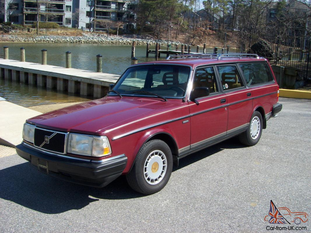 1989 volvo 240 dl wagon 71k miles 5 speed manuel 1 owner no reserve. Black Bedroom Furniture Sets. Home Design Ideas
