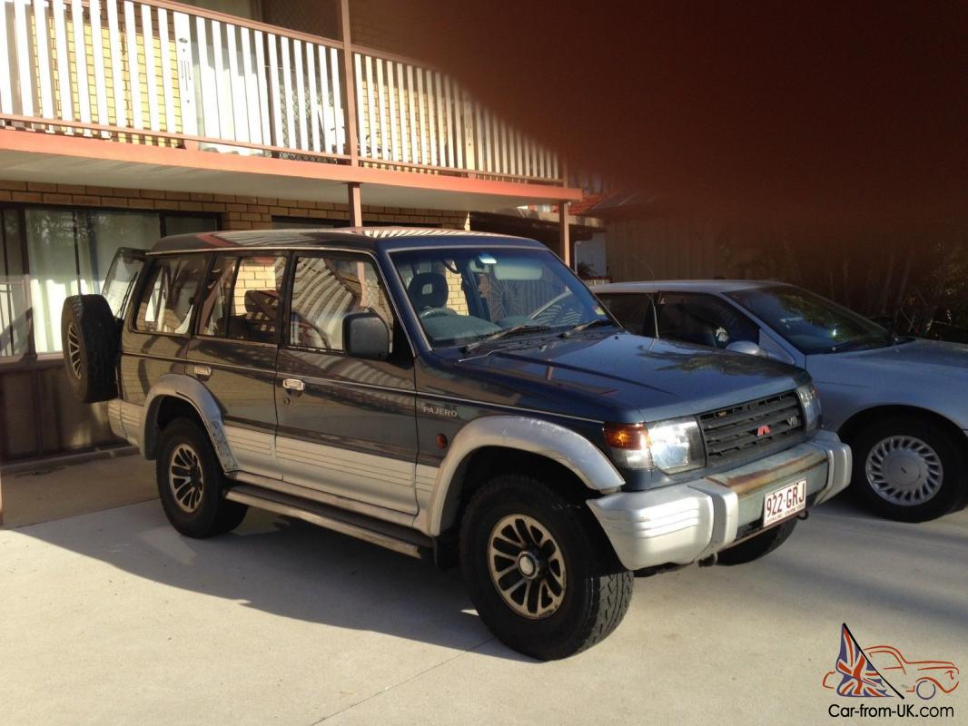 mitsubishi pajero gls lwb 4x4 1992 wagon 3 l petrol in scarborough qld. Black Bedroom Furniture Sets. Home Design Ideas