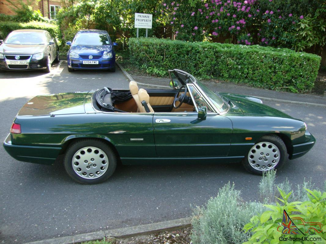 1991 alfa romeo spider s4. *** immaculate condition ***