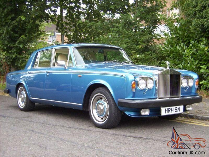 rolls royce silver shadow ii with royal association. Black Bedroom Furniture Sets. Home Design Ideas