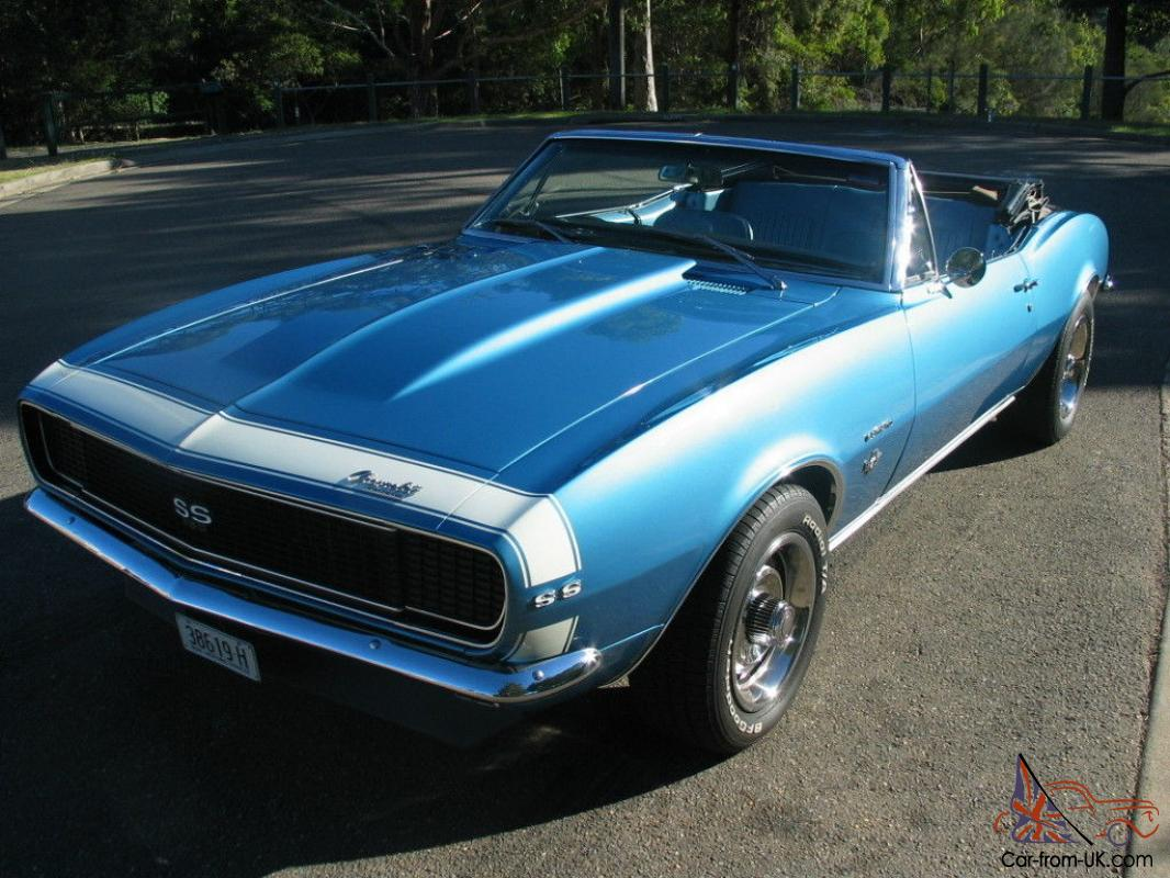 1967 chevrolet camaro ss rs convertible rhd auto not mustang. Black Bedroom Furniture Sets. Home Design Ideas