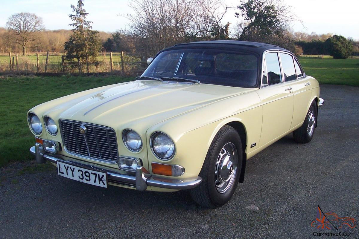 jaguar xj6 series 1 4 2 auto lovely old girl new mot worn but very pretty. Black Bedroom Furniture Sets. Home Design Ideas