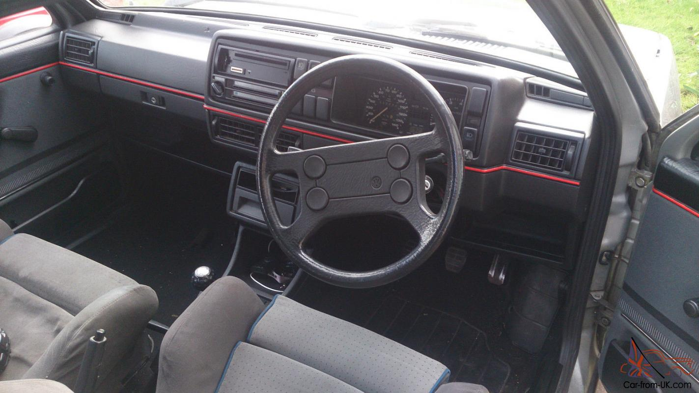 Vw golf mk2 gti interior images for Interior volkswagen golf