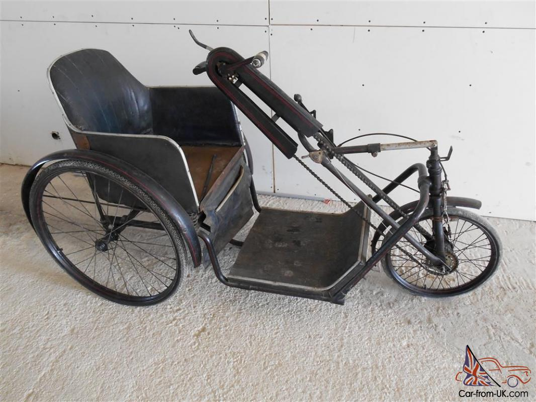 Vintage Invalid Carriage Barn Find In Full Working Order