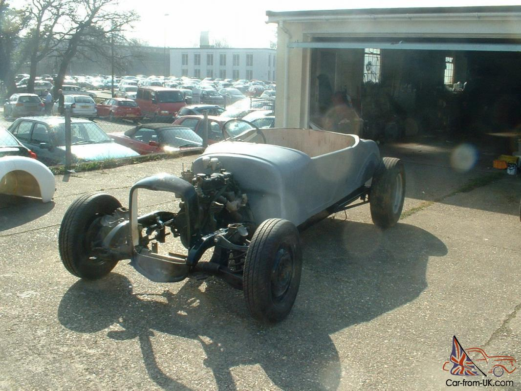 1927 MODEL T STYLE HOT ROD PROJECT / MODIFIED / HOT ROD / RAT ROD ...