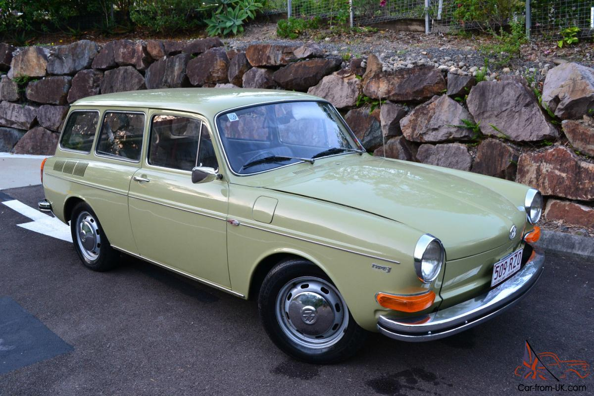 no reserve 1971 vw 1600 type 3 squareback wagon very rare in little mountain qld. Black Bedroom Furniture Sets. Home Design Ideas