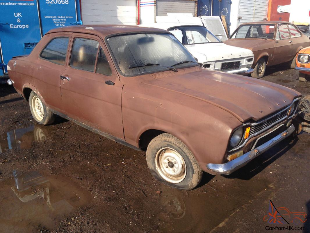 Escort MK1 (2 Door very Solid car,Fresh Import ) LHD !! RARE ...