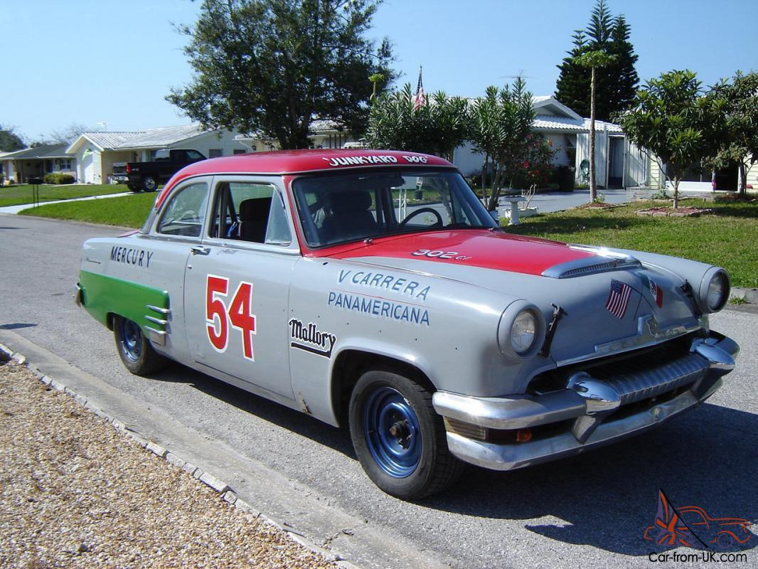 Old Cars For Sale Stock Photos Old Cars For Sale Stock: 1954 Mercury Monterey, LaCarrera Panamericana, Rally