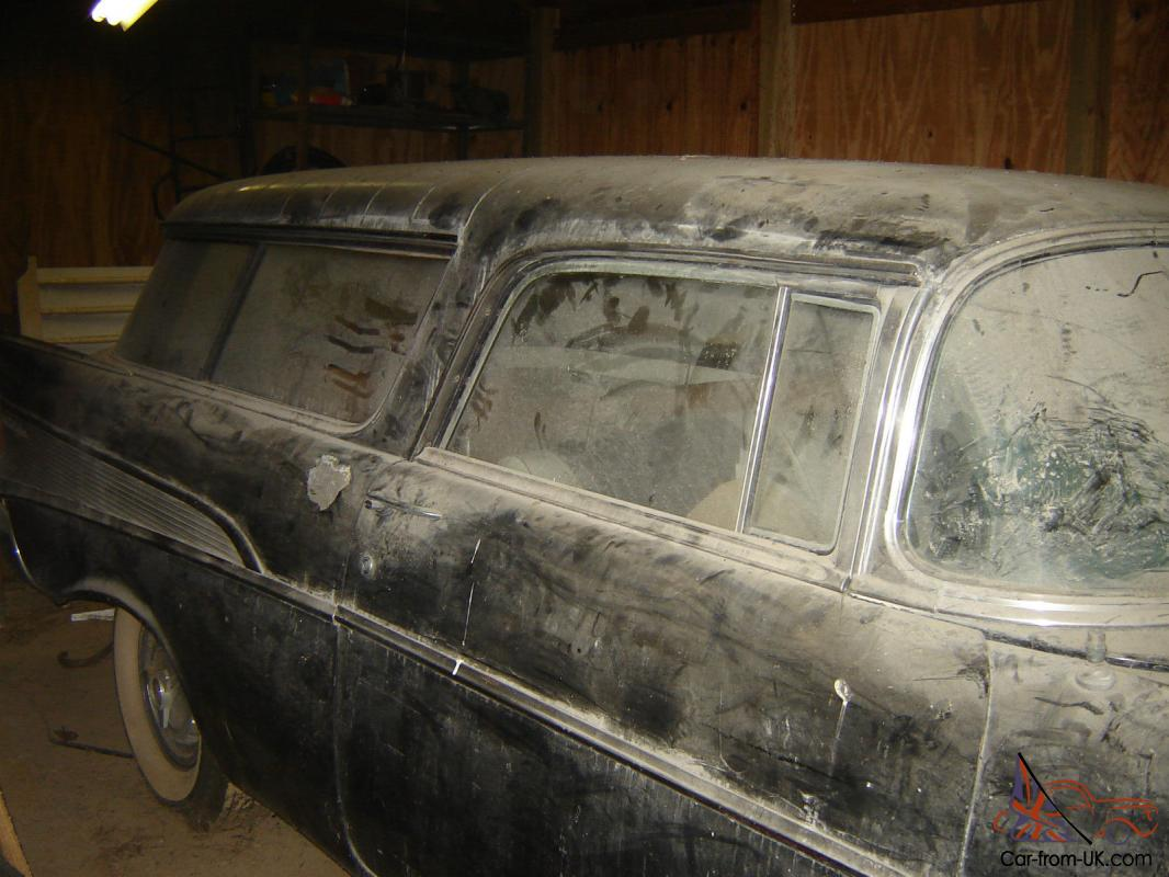 1957 CHEVROLET NOMAD RARE BARN FIND Photo