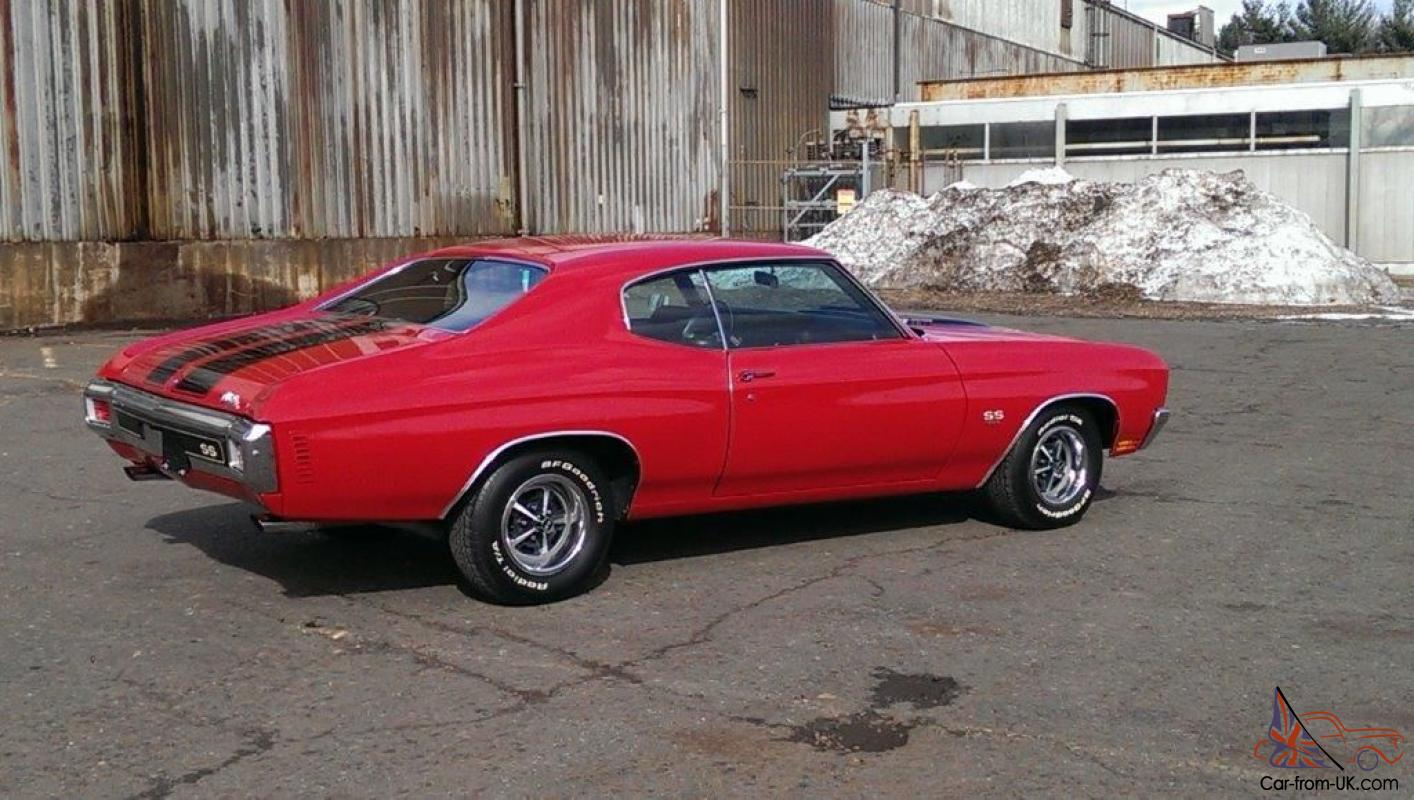 1970 Chevelle SS 454-450 hp Excellent Paint & Body, Complete SS package