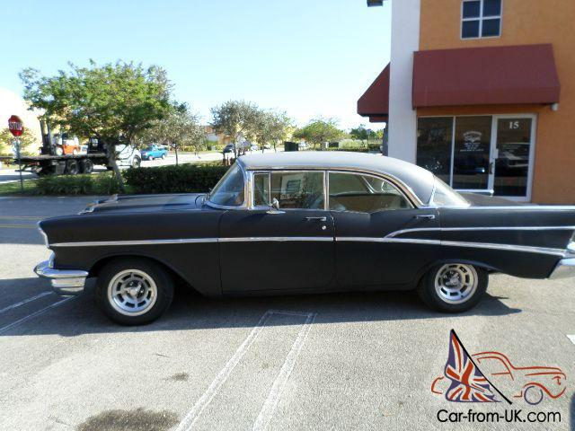 1957 chevrolet bel air base sedan 4 door 4 6l no post for 1957 chevrolet 4 door