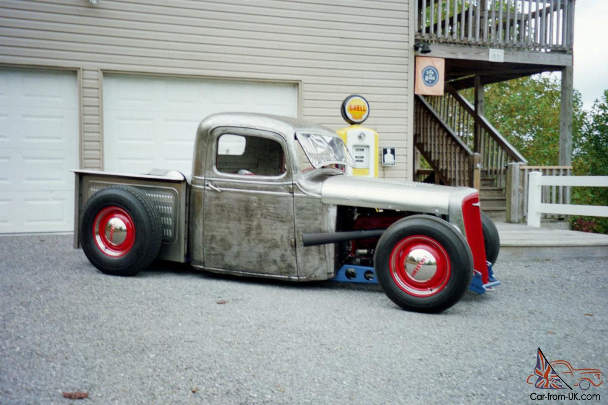 1937 CHEVY PICKUP TRUCK HOT ROD RAT ROD UNIQUE