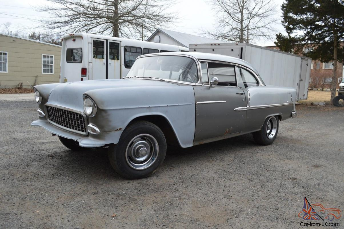 All Chevy » 1955 Chevy Bel Air Project Cars For Sale - Old Chevy ...