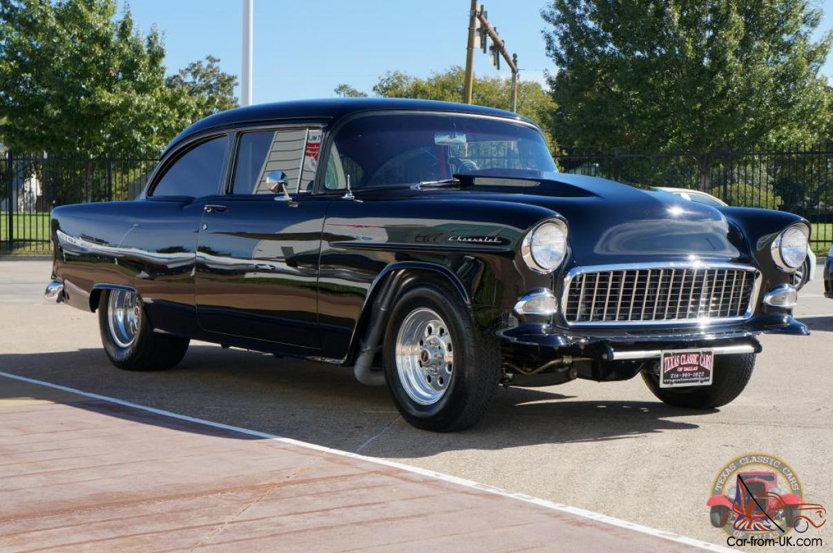1955 Chevy 210 Custom Street Machine 427 Awesome Hot Rod