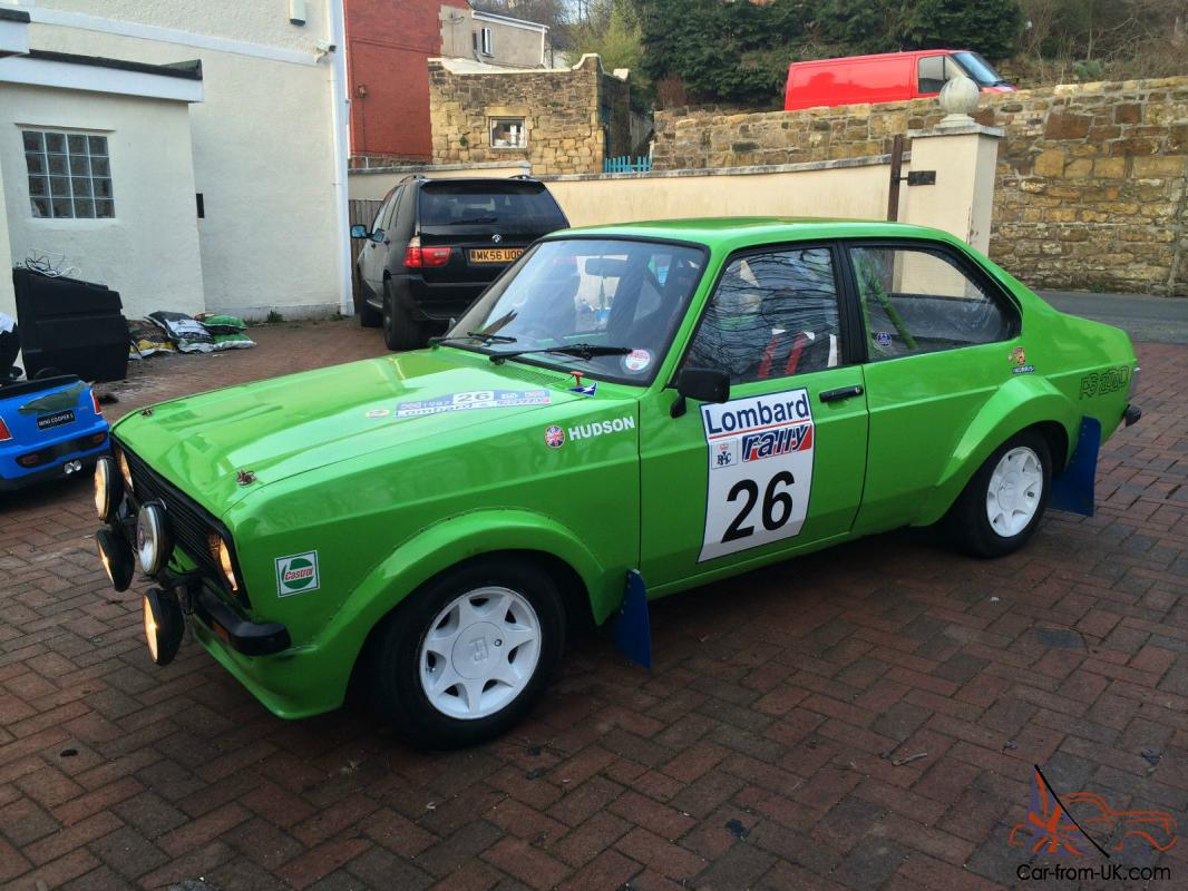 1979 Ford Escort Mk2 2 0 Road Rally Track Car Taxed And Tested