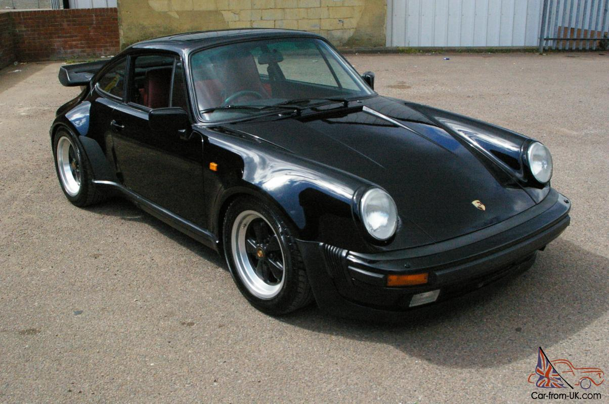 1987 porsche 911 3 3 turbo black mint condition any. Black Bedroom Furniture Sets. Home Design Ideas