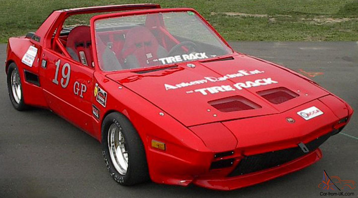 fastest x1 9 in the usa 39 74 fiat x19 race car. Black Bedroom Furniture Sets. Home Design Ideas