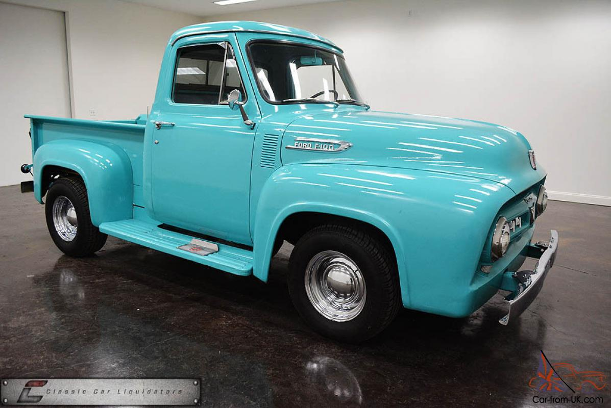1953 Ford F100 Cool Truck Look 1950 To Pickup