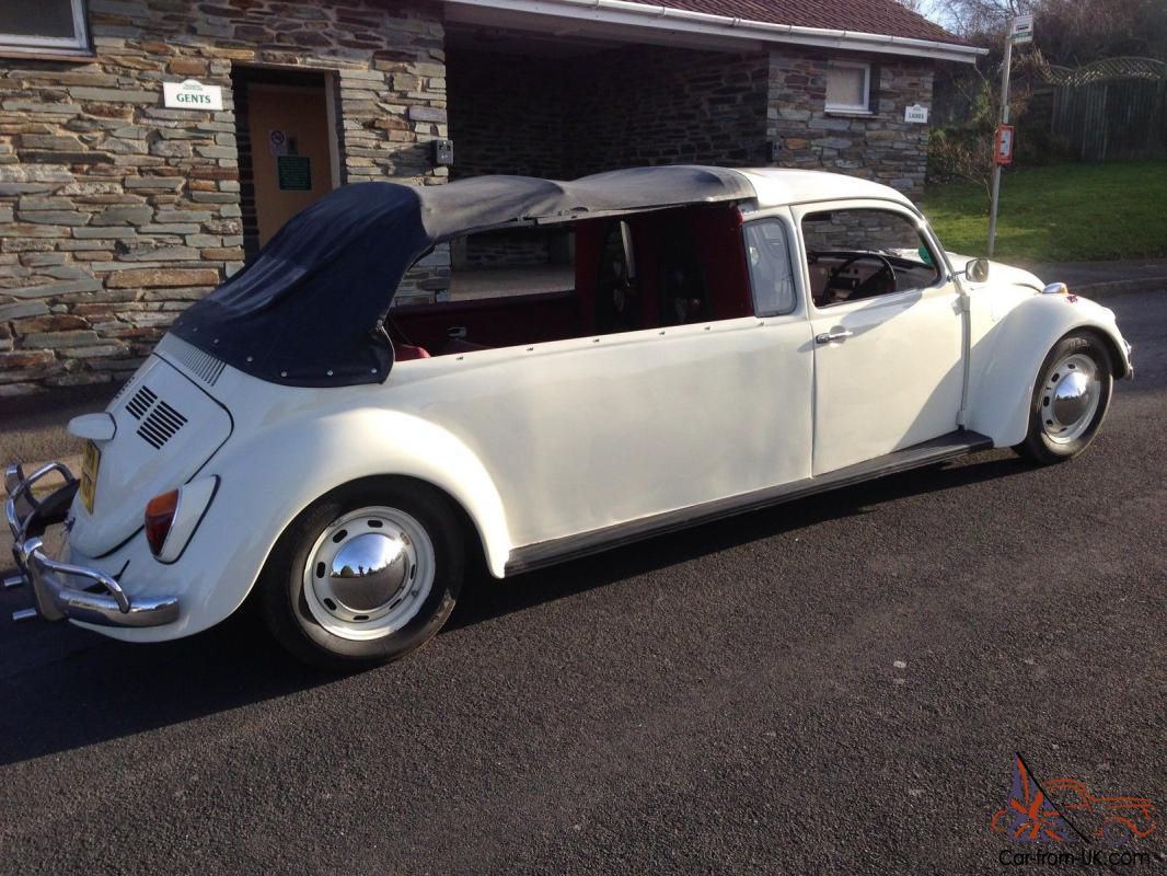 vw beetle cabriolet limo