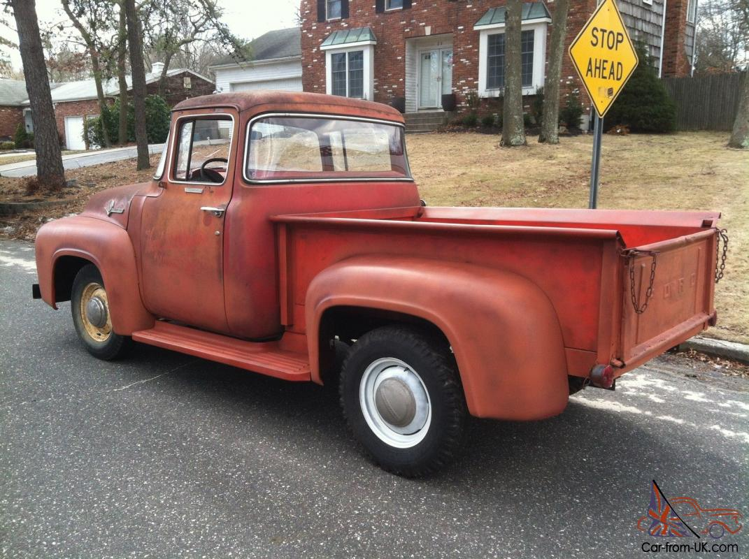 1956 ford f100 big window for sale
