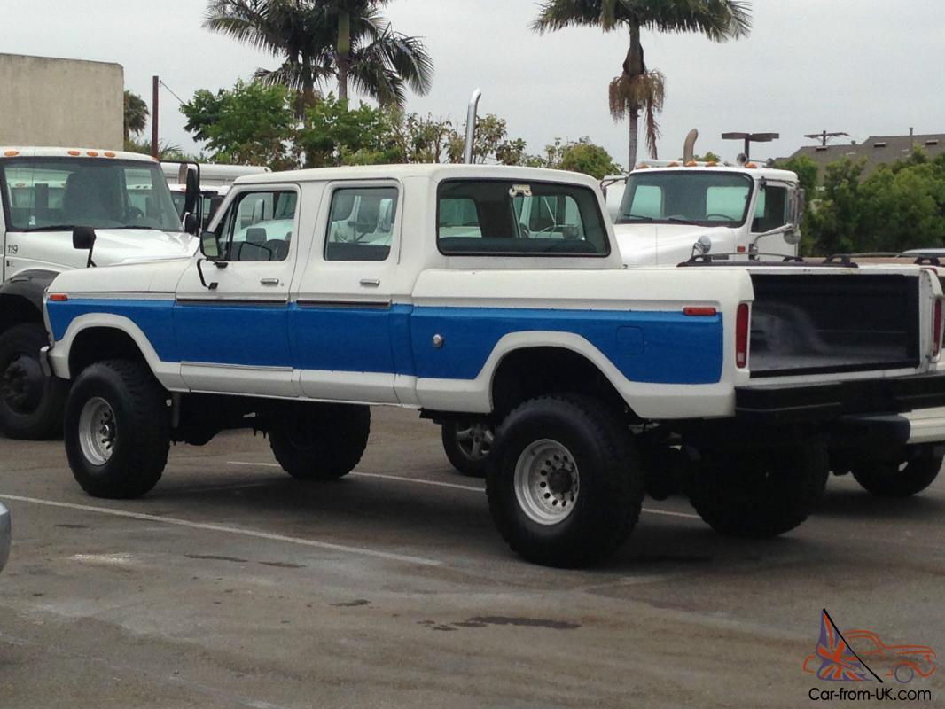 1978 Ford F 250 4x4 Crew Cab Short Box 1969 For Sale