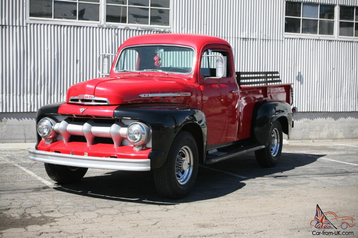 1951 ford f2 rare 3 4 ton pickup 40 year barn find. Black Bedroom Furniture Sets. Home Design Ideas