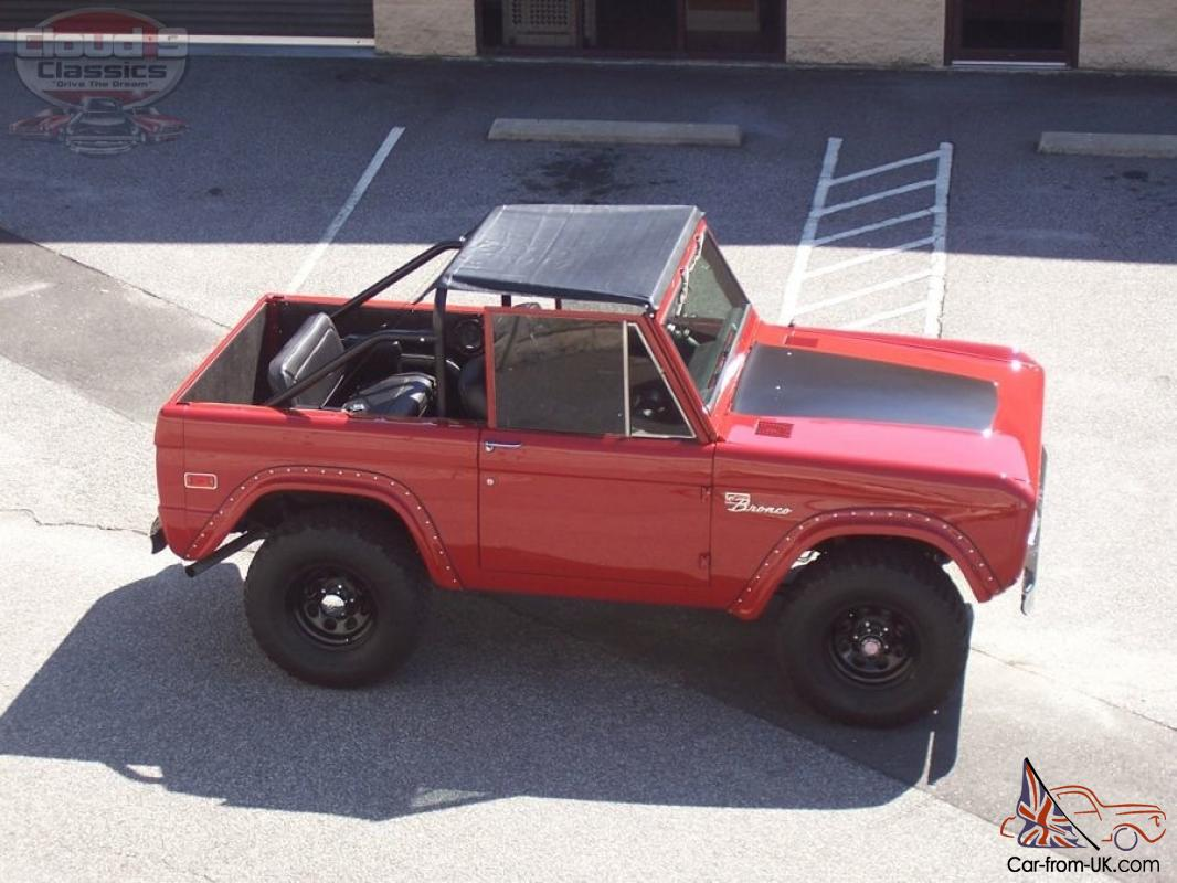 Awesome 1975 ford bronco classic 4wd restored automatic 302 ready to sow and go