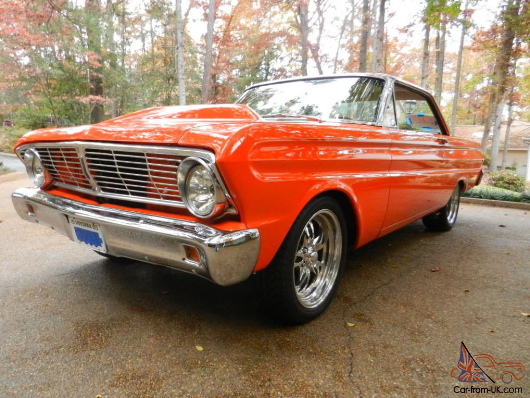 customized 1965 ford falcon hardtoplowered reserve