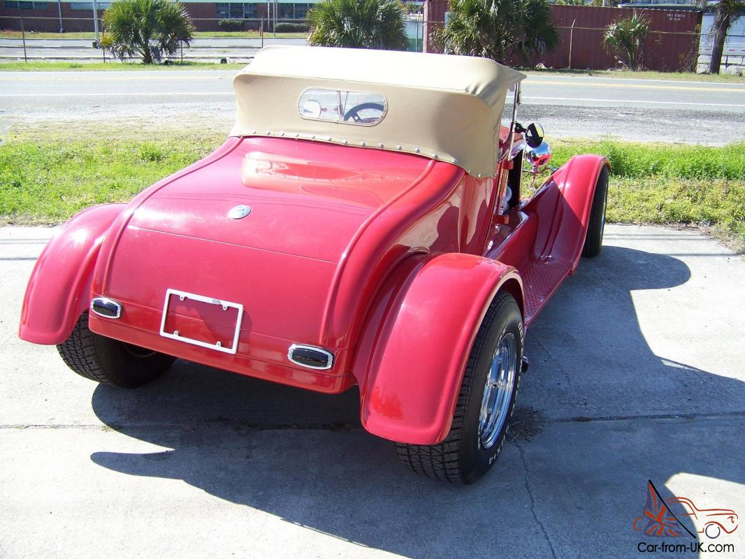 1927 Ford Model T Roadster With Removable Top Very Low Miles Since Build The Is So Similar To