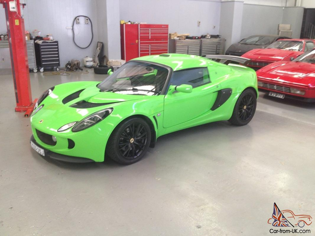 Lotus Exige 2004 2d Coupe 6 Sp Manual 1 8l Multi Point F