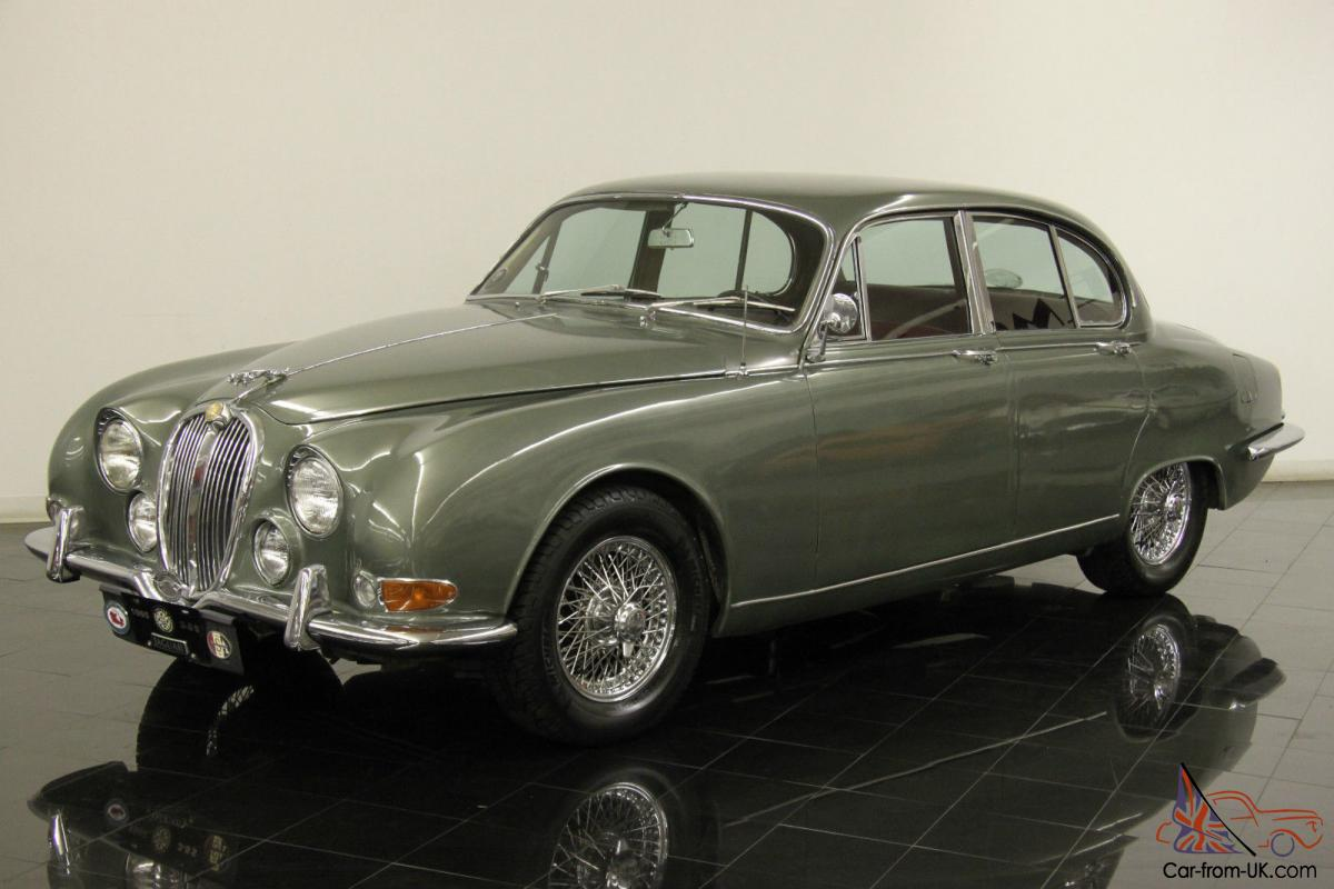 1965 jaguar 3 8 s type numbers matching automatic new chrome wire wheels. Black Bedroom Furniture Sets. Home Design Ideas
