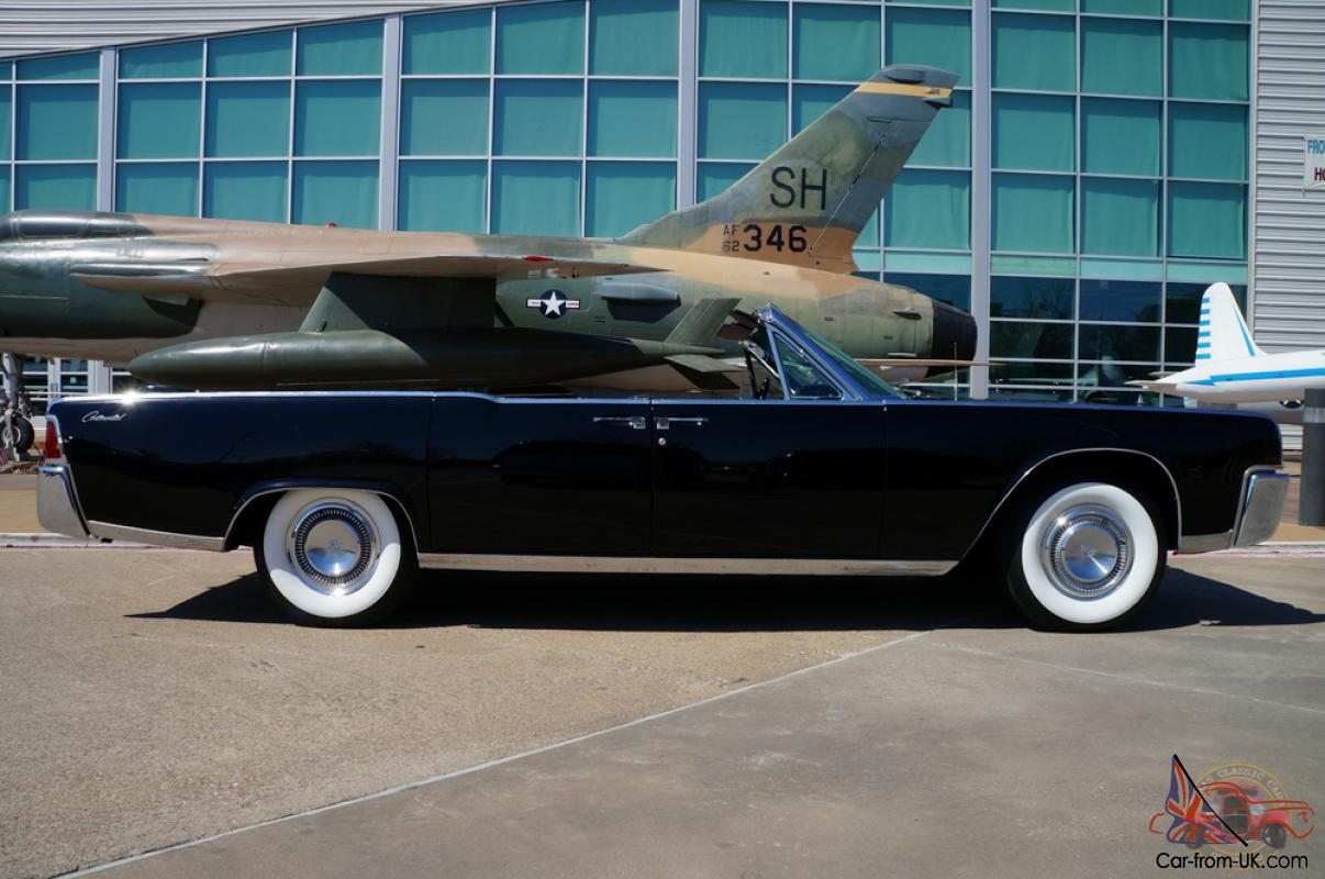 1964 lincoln continental convertible recently restored. Black Bedroom Furniture Sets. Home Design Ideas