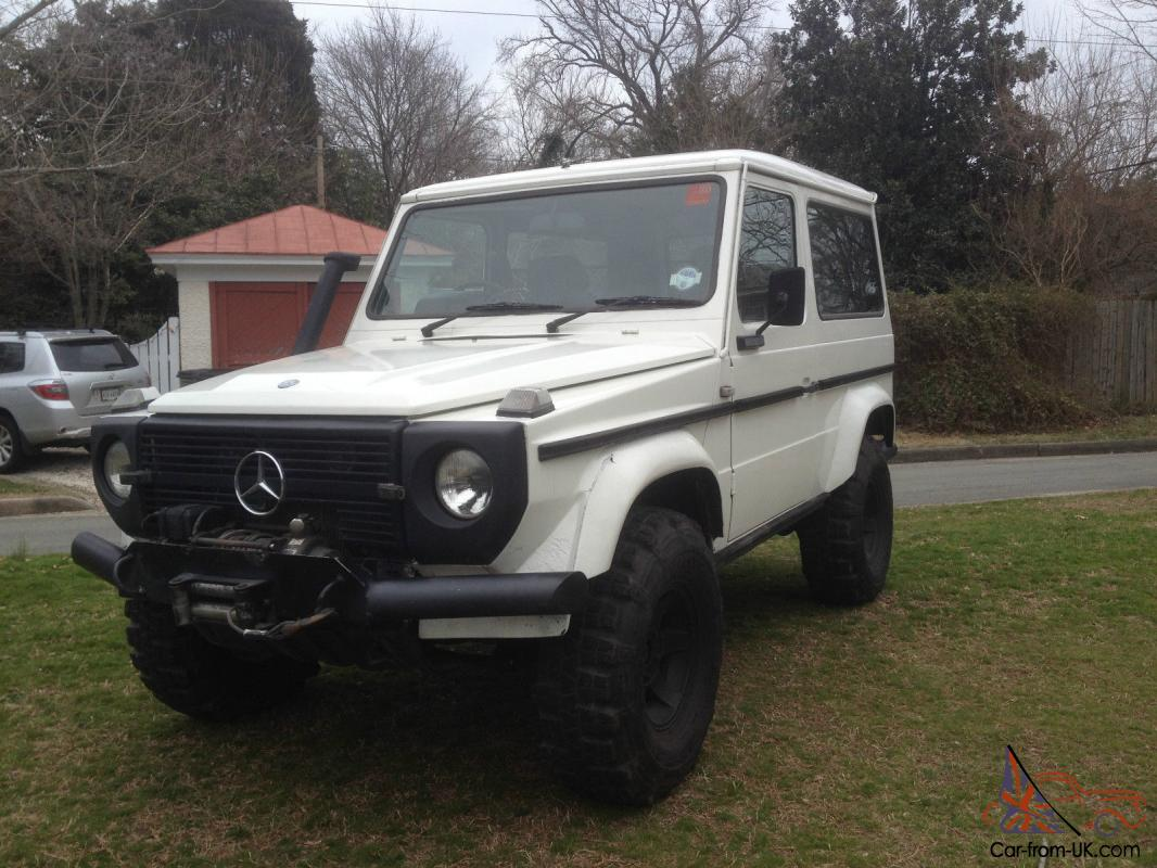 1987 mercedes g 230 off road machine for Mercedes benz g class off road