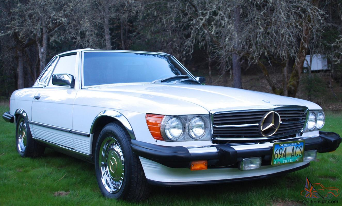 560 sl mercedes benz rare gold package rust free r107 for Mercedes benz 560sl