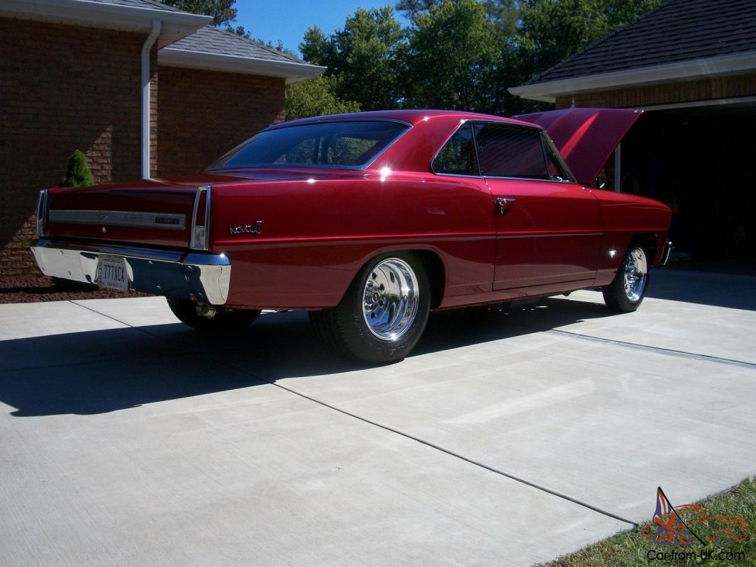 1967 Chevy II Nova, mini tubbed with Chevy 421 cubic inch engine