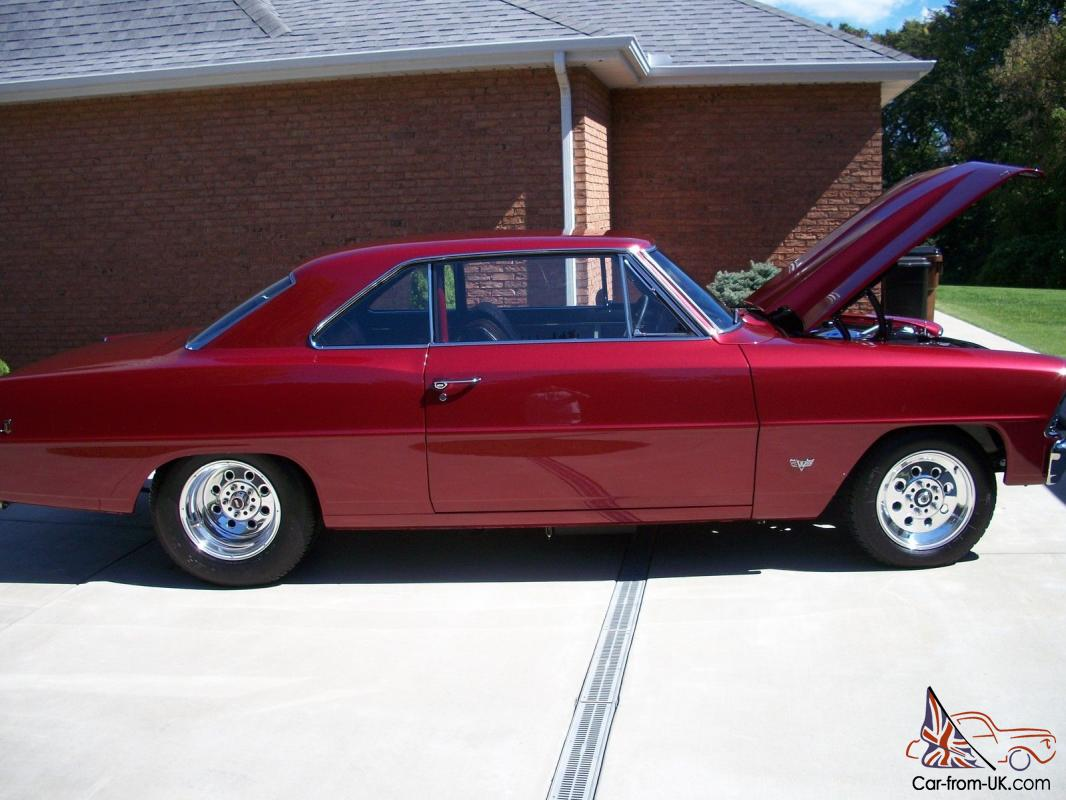 Chevy II Nova, mini tubbed with Chevy 421 cubic inch engine