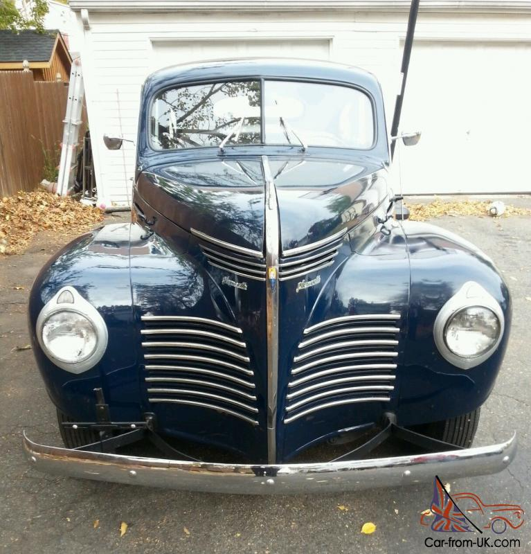 1940 plymouth road king touring 4 door sedan for 1940 door