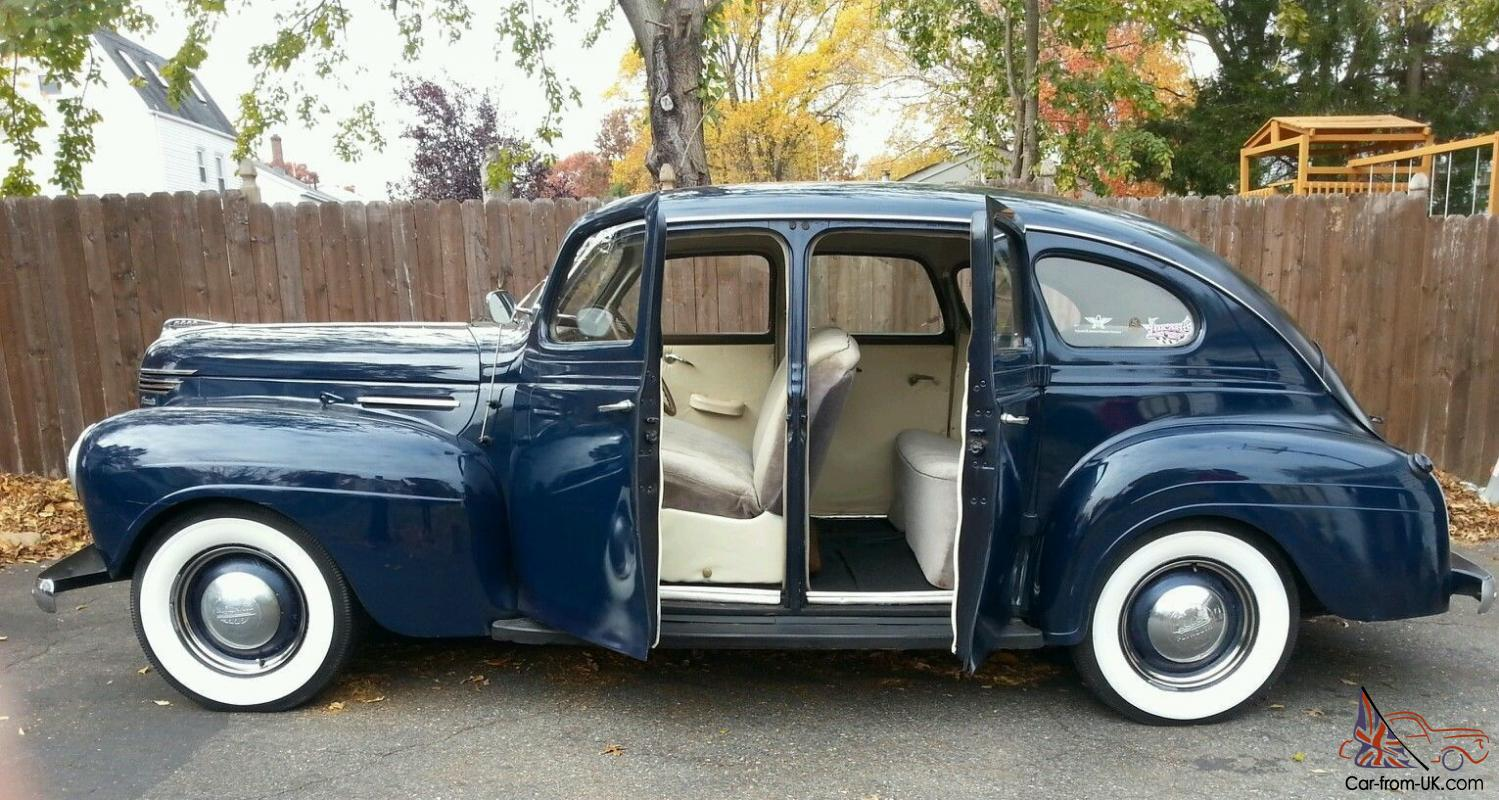 1940 plymouth road king touring 4 door sedan
